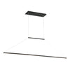 E=MC2 LED Linear Pendant 3000K in Black