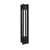 Chamber LED 12V Bollard 3000K in Black