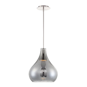 Brazen Pear LED Pendant 3000K in Smoke