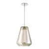 Brazen Tapered LED Pendant 3000K in Champagne
