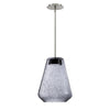 Brazen Tapered LED Pendant 3000K in Smoke