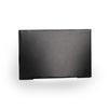 LED Low Voltage Horizontal Scoop Step and Wall Light 3000K in Black