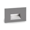 LEDme Horizontal Step and Wall Light 120V Red in Graphite