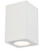 5.5in Cube Architectural Ceiling Mount 2390lm 4000K Narrow Beam