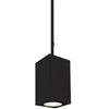 5.5in Cube Architectural Pendant Light 2440lm 3500K Narrow Beam