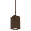 5.5in Cube Architectural Pendant Light 2355lm 2700K Flood Beam