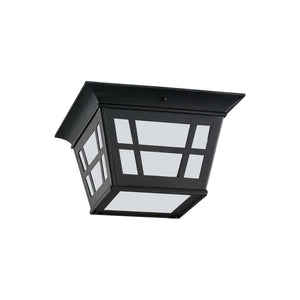 Herrington 2 Light Outdoor Lighting in Black Finish by Sea Gull 79131-12