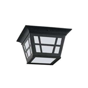 Herrington 2 Light Outdoor Lighting in Black Finish by Sea Gull 79131EN3-12