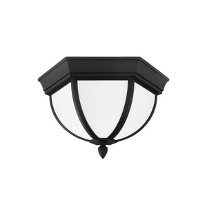 Wynfield 2 Light Outdoor Lighting in Black Finish by Sea Gull 79136-12