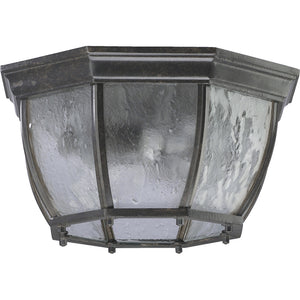 Weston 2 Light Ceiling Mount in Baltic Granite Finish 7931-2-45