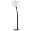 Masonic Floor Lamp in Painted Oil Rubbed Bronze by Currey and Company 8000-0079