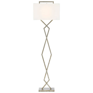 Evelyn Floor Lamp in Pyrite Bronze by Currey and Company 8000-0080