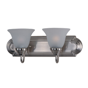 Maxim Lighting 8012FTSN Essentials - 801x-Bath Vanity in Satin Nickel