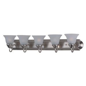Maxim Lighting 8015FTSN Essentials - 801x-Bath Vanity in Satin Nickel