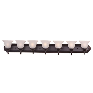 Maxim Lighting 8016FTOI Essentials - 801x-Bath Vanity in Oil Rubbed Bronze