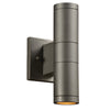 PLC Lighting 8024 BZ Troll-II Collection 2 Light Exterior in Bronze Finish