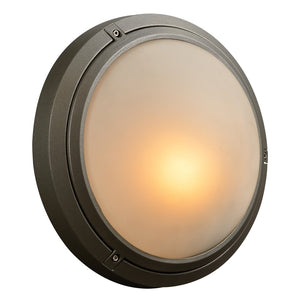PLC Lighting 8037 BZ Ricci-I Collection 1 Light Exterior in Bronze Finish