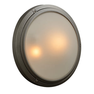 PLC Lighting 8039 BZ Ricci-II Collection 2 Light Exterior in Bronze Finish