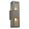PLC Lighting 8041 BZ Tessa Collection 2 Light Exterior in Bronze Finish