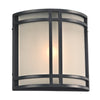 PLC Lighting 8045BZLED Summa Collection 1 Light Exterior in Bronze Finish