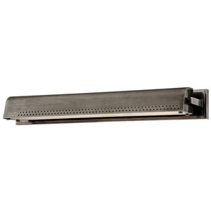Garfield 1 Light LED Picture Light By Hudson Valley 8124-HN in Historic Nickel Finish