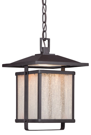 Hillsdale 1 Light Outdoor Pendant In Dorian Bronze Finish by Minka Lavery 8164-615B-L