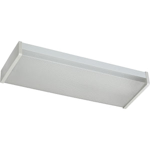 2 Light Ceiling Mount in White Finish 82124-2-6