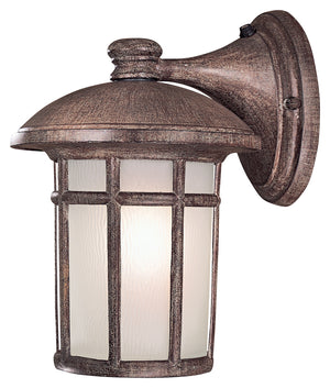 Cranston 1 Light Outdoor Pendant In Vintage Rust Finish by Minka Lavery 8253-61-PL