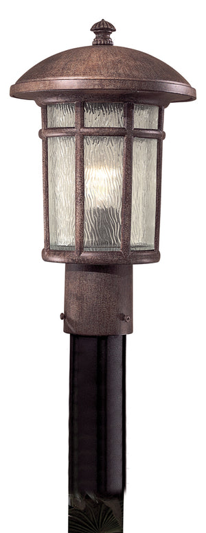 Cranston 1 Light Outdoor Pendant In Vintage Rust Finish by Minka Lavery 8256-61