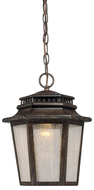Wickford Bay 1 Light Outdoor Pendant In Iron Oxide Finish by Minka Lavery 8274-A357-L