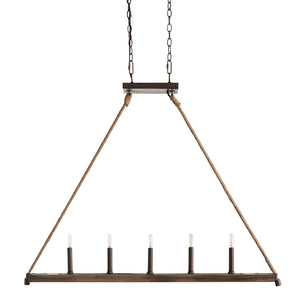 Capital Lighting  829651NG 5 Light Island in Nordic Grey