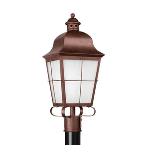 Chatham 1 Light Outdoor Lighting in Weathered Copper Finish by Sea Gull 82973EN3-44