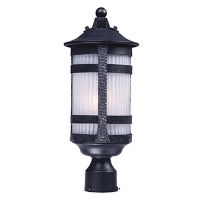 Maxim Lighting 83120CONAR Casa Grande EE 1-Light Outdoor Post in Anthracite Finish