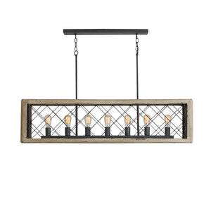 Capital Lighting  835271SS 7 Light Island in Sea Salt