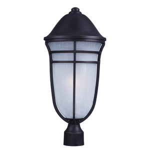 Maxim Lighting 84100WPAT Westport DC EE 1-Light Outdoor Post in Artesian Bronze Finish