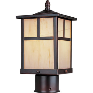 Maxim Lighting 85055HOBU Coldwater EE 1-Light Outdoor Pole/Post Lantern in Burnished Finish