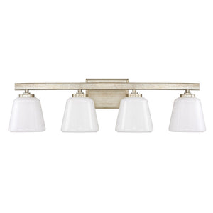 Capital Lighting Berkeley 8534WG-300 4 Light Bathroom Vanity in Winter Gold