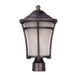 Maxim Lighting 85500LACO Balboa DC EE 1-Light Medium Outdoor Post in Copper Oxide Finish