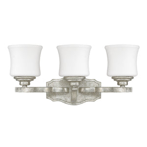 Capital Lighting Blair 8553AS-299 3 Light Bathroom Vanity in Antique Silver