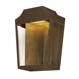 Maxim Lighting 85632CLTRAE Villa LED Outdoor Wall Lantern in Adobe Finish