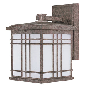 Maxim Lighting 85693FSET Sienna EE 1-Light Small Outdoor Wall in Earth Tone Finish