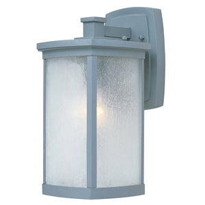Maxim Lighting 85753FSPL Terrace EE 1-Light Medium Outdoor Wall in Platinum Finish