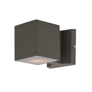 Maxim Lighting 86107ABZ Lightray LED 2-Light Wall Sconce in Architectural Bronze Finish