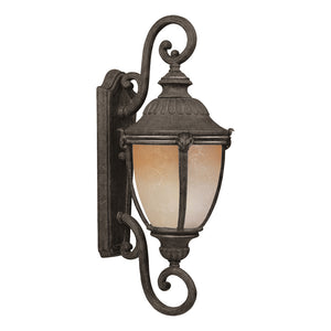 Maxim Lighting 86188LTET Morrow Bay EE 1-Light Outdoor Wall Lantern in Earth Tone Finish