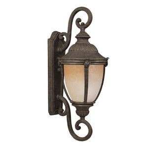 Maxim Lighting 86189LTET Morrow Bay EE 1-Light Outdoor Wall Lantern in Earth Tone Finish