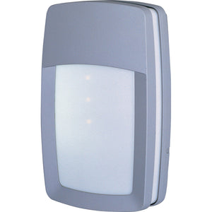 Maxim Lighting 86202WTPL Zenith EE 2-Light Wall Mount in Platinum Finish