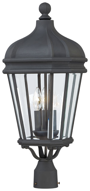Harrison 3 Light Outdoor Pendant In Black Finish by Minka Lavery 8696-66