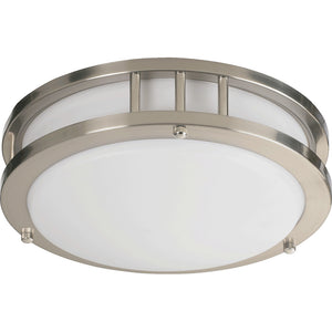 1 Light Ceiling Mount in Satin Nickel Finish 87210-1-65