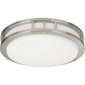 1 Light Ceiling Mount in Satin Nickel Finish 87215-1-65
