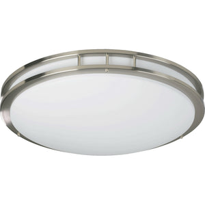 2 Light Ceiling Mount in Satin Nickel Finish 87223-2-65